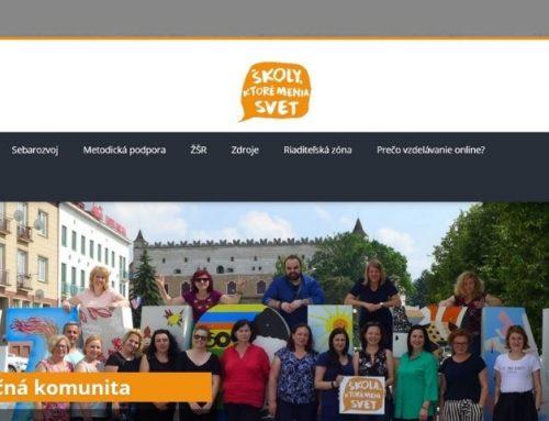 e-Learning Škôl, ktoré menia svet